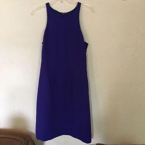J Crew blue dress. Size 8.
